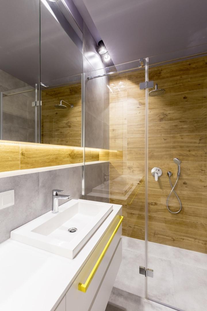 Łazienka 3m2 - projekty, inspiracje, aranżacje