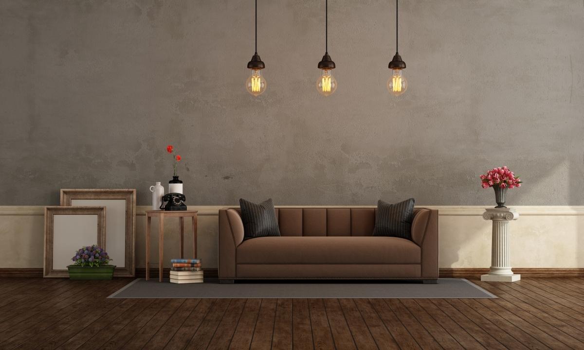 Jaki dobrać kolor ścian do brązowych mebli