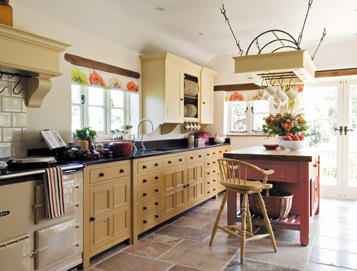 Kuchnia w stylu rustykalnym projekty