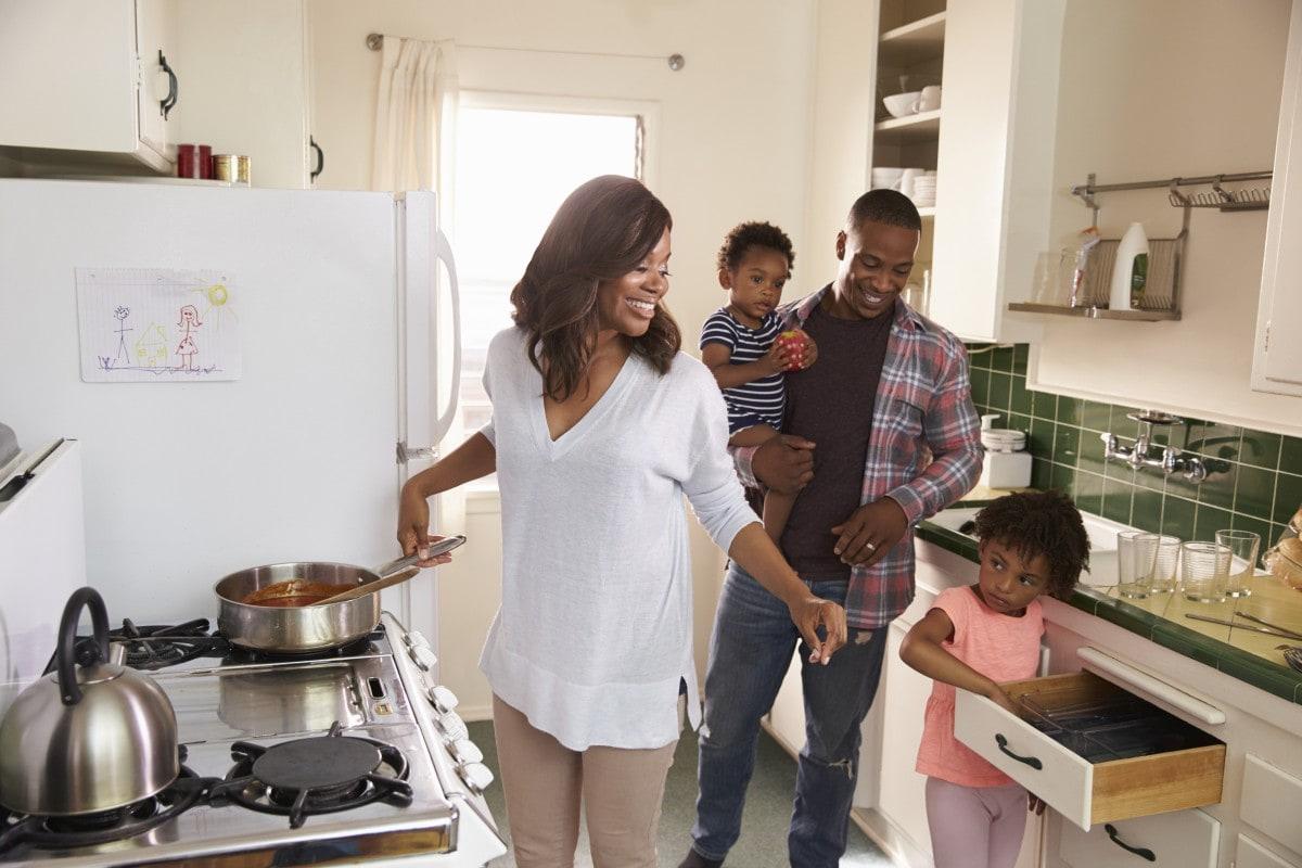 Nawet niewielka, ale dobrze zaplanowana przestrzeń kuchenna, spełni swoją rolę