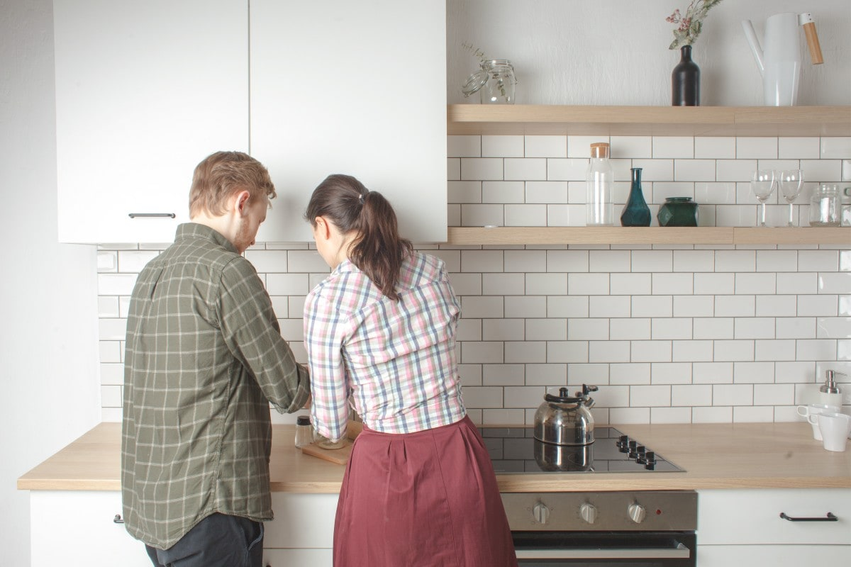 Wielkość kuchni nie jest przeszkodą do wspólnego gotowania