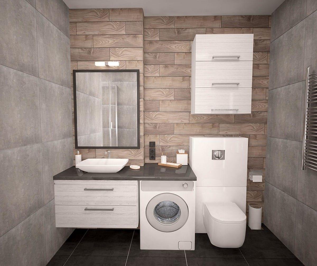 Odpowiedni dobór kolorów to w małych łazienkach bardzo istotna rzecz