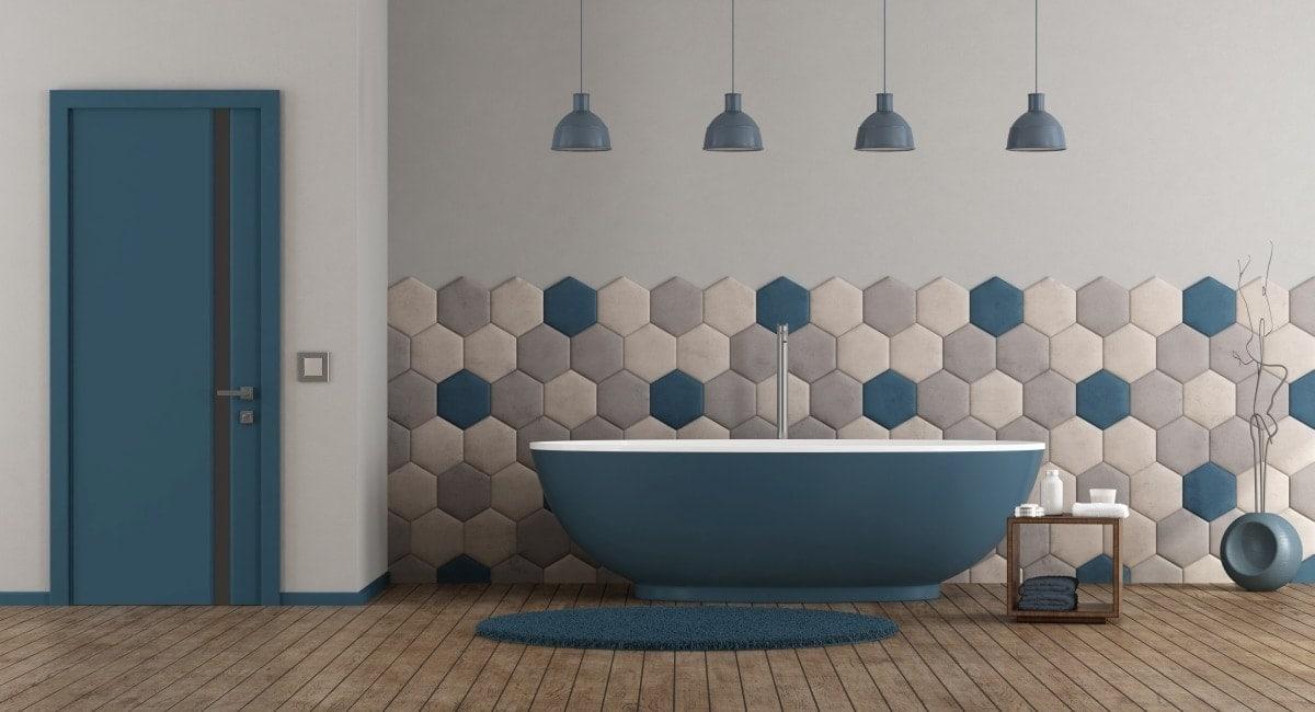 Nowoczesna łazienka może być też salonem kąpielowym